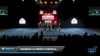 Warman Ultimate Cheerleading - Onyx [2020 L5 International Open Day 2] 2020 PAC Battle Of Champions