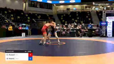 60 kg Consolation - Camden Russell, MWC Wrestling Academy vs Brady Koontz, TMWC/OHIO RTC