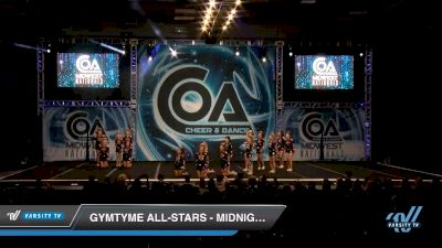 GymTyme All-Stars - Midnight [2020 L2 Senior - Small Day 2] 2020 COA: Midwest National Championship