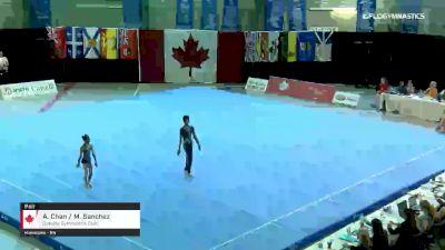 A. Chan / M. Sanchez - Pair, Oakville Gymnastics Club - 2019 Canadian Gymnastics Championships - Acro