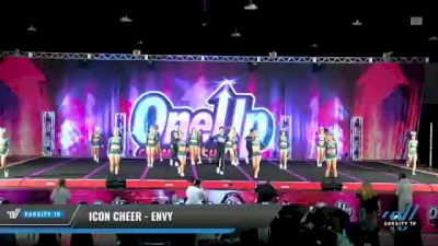 Icon Cheer - Envy [2021 L6 Senior Coed - Small Day 2] 2021 One Up National Championship