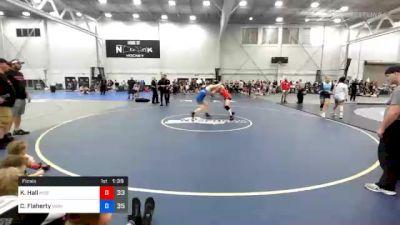 165 lbs Final - Kaylie Hall, Misfits Kick Start vs Caitlyn Flaherty, WOW South