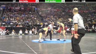 197lbs Semi Finals: Scott Schiller (Minnesota) vs. Nick Heflin (tOSU)