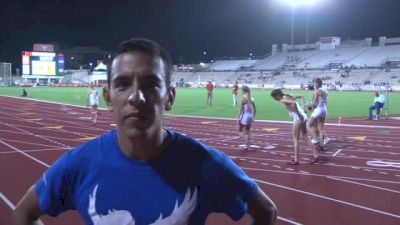 Leo Manzano shows the early season speed, breaks his own TX Relays record