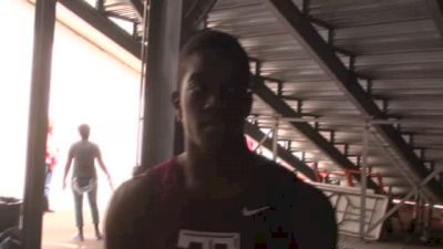 Wayne Davis Jr. strong season opener, talks NCAA hurdle rivalry