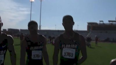 Florida 4x400m squad taking it one meet at a time
