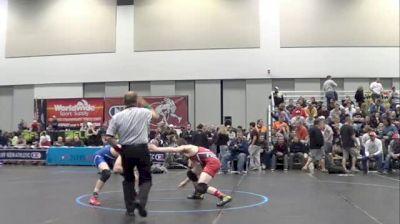 132lb Sr. Final, Sean Fausz, KY vs Dusty Hone, UT