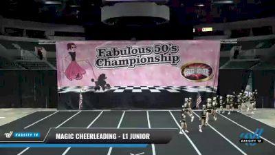 Magic Cheerleading - L1 Junior [2021 Dazzle] 2021 ACP Disco Open Championship: Trenton