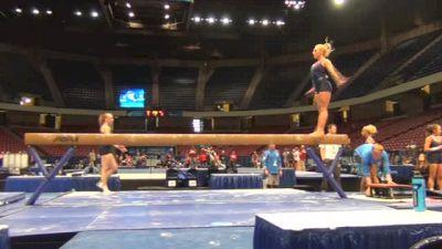 Samantha Peszek of UCLA nails beam routine in PT