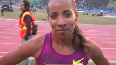 Lea Wallace excited for the World Relays