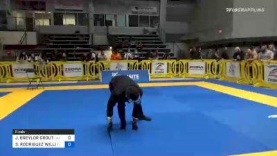 J. BREYLOR GROUT vs SEBASTIAN RODRIGUEZ WILLIAMS 2020 American National IBJJF Jiu-Jitsu Championship