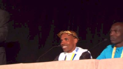 Meb's place on the Mt. Rushmore of Marathoners