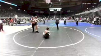 160 lbs Final - Cutter Jones, Coyote WC vs Gabe Lake, Flathead Valley WC