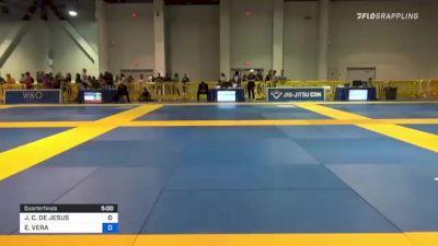 JHONATHAN C. DE JESUS vs ELIAS VERA 2021 American National IBJJF Jiu-Jitsu Championship