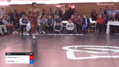 125 kg Final - Gable Stevenson, Gopher Wrestling Club - RTC vs Dominique Bradley, Sunkist Kids Wrestling Club