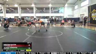 138 lbs Round 9 (10 Team) - Alessio Perentin, Team Shutt vs Weston Dalton, TS Dethrone