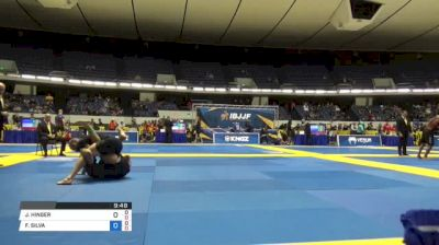 JOSHUA HINGER vs FELIPE SILVA World IBJJF Jiu-Jitsu No-Gi Championships