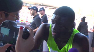 Kirani James is now tied for the 5th fastest all-time