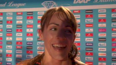 Jenny Simpson after JUST missing the AR in Paris