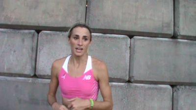 Sarah Brown wins mile in 4:26