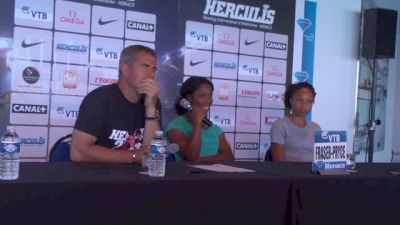 Allyson Felix and Shelly-Ann Fraser-Pryce on doping and more in Monaco