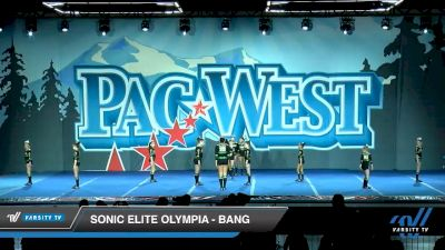 Sonic Elite Olympia - Bang [2020 L1 Youth - Small Day 2] 2020 PacWest