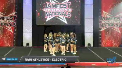 Rain Athletics - Electric [2021 L4.2 Senior Day 2] 2021 JAMfest Cheer Super Nationals