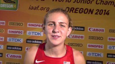 Mary Cain just won a world championship