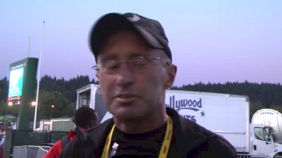 Alberto Salazar talks Mary Cain's plans after her gold medal