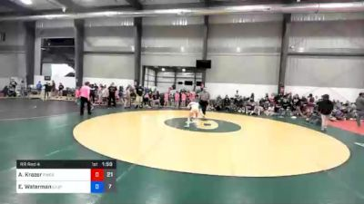 44 kg Prelims - Aubre Krazer, PWC Athena (W) 1 vs Elora Waterman, Level Up