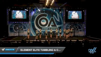 Element Elite Tumbling & Cheer - Lady Lithium [2020 L2 Senior - D2 - Small Day 2] 2020 COA: Midwest National Championship