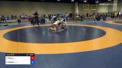65 kg Consolation - Parker Filius, Boilermaker RTC vs Rylee Molitor, Jackrabbit Wrestling Club