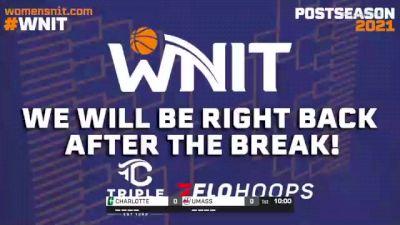 UMASS vs. CHARLOTTE - 2021 WNIT - Round 2, Charlotte Regional
