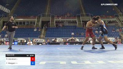 220 lbs Cons 8 #2 - Ramin Abraham, Illinois vs Falemalama Weggen, Washington