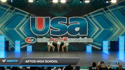 Aptos High School [2020 Small Varsity Song/Pom Intermediate (5-7) Day 2] 2020 USA Spirit Nationals