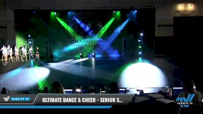 Ultimate Dance & Cheer - Senior Small Jazz [2021 Senior - Jazz - Small Day 2] 2021 CSG Dance Nationals