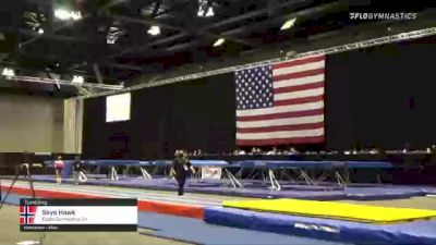Skye Hawk - Tumbling, Eagle Gymnastics TX - 2021 USA Gymnastics Championships