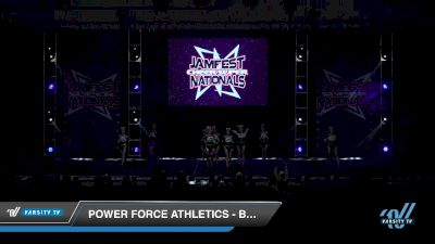 Power Force Athletics - Blackout [2019 Junior - D2 - Small - A 3 Day 2] 2019 JAMfest Cheer Super Nationals
