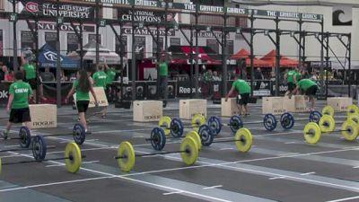 Unbroken - Open Scaled Men RX - Heat #1