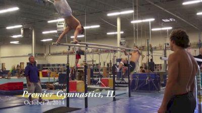Workout Wednesday: Alex Diab and Level 10's of Premier Gymnastics Illinois