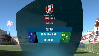 New Zealand 7s VS Ireland 7s Cup Quarter Finals | 2018 HSBC Women's 7s Colorado