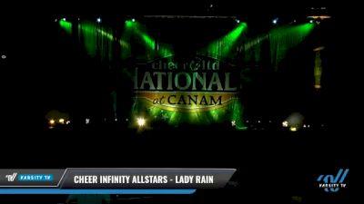 Cheer Infinity Allstars - Lady Rain [2021 L3 Senior - D2 - Small Day 2] 2021 Cheer Ltd Nationals at CANAM