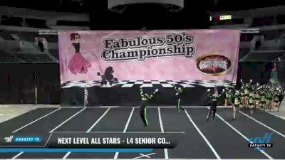 Next Level All Stars - L4 Senior Coed [2021 Venom] 2021 ACP Disco Open Championship: Trenton