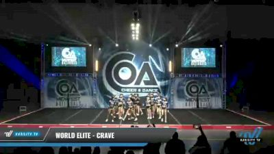 World Elite - Crave [2021 L6 Senior - XSmall Day 2] 2021 COA: Midwest National Championship