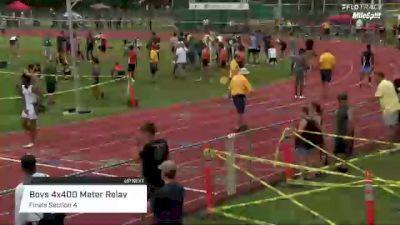High School Boys' 4x400m Relay, Finals 4