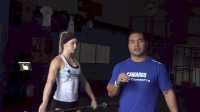 DANIEL CAMARGO | Correcting Overextension Of The Hips In Your Snatch