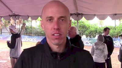 Alan Webb on triathlon switch and Footlocker experience