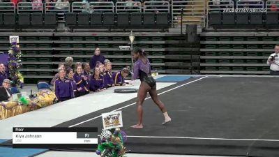 Kiya Johnson - Floor, LSU