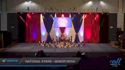 National Stars - Junior Nova [2021 L2 Junior - D2 - Medium Day 2] 2021 The American Royale DI & DII