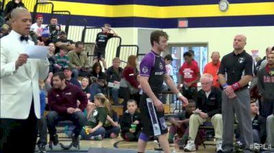 160lbs Match Jason Welch (Chicago RTC) vs. Craig Becker (UW Parkside)